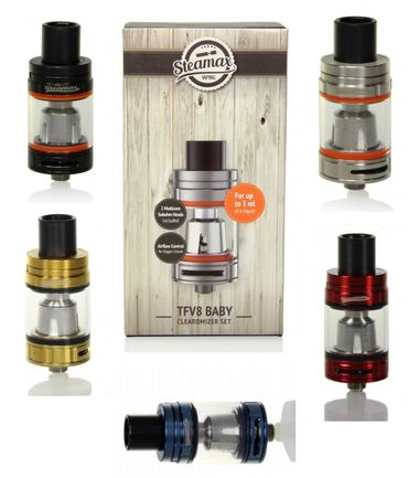 Steamax TFV8 Baby Beast Verdampfer/Clearomizer made by Smok