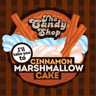 Big Mouth Aroma - Cinnamon Marshmallow Cake - The Candy Shop Serie  30ml