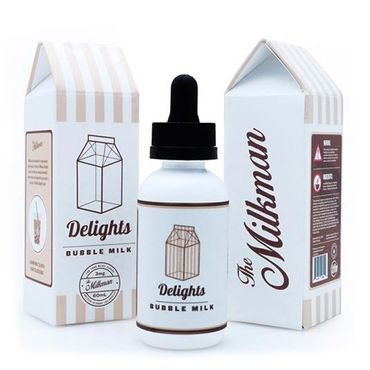 Milkman Delight Bubble Milk Plus US Premium Boosted Liquid 50 ml