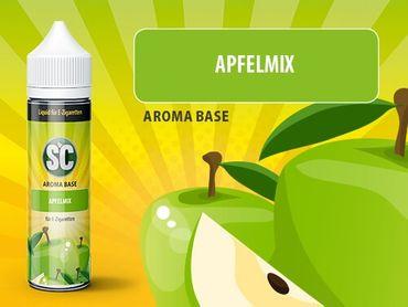 Apfel-Mix - SC Boosted Liquid PLUS  Shake ´n Vape - überdosiert 50ml