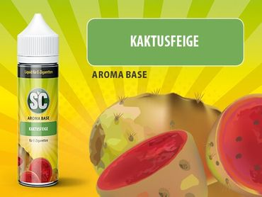 Kaktusfeige - SC Boosted Liquid PLUS  Shake ´n Vape - überdosiert 50ml