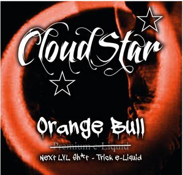 CLOUDSTAR Trick Orange Bull Premium Liquid 60 ml 0mg
