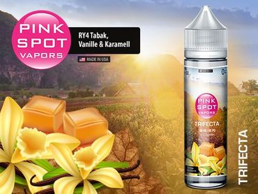 PINK SPOT - Trifecta - Boosted Liquid PLUS Shake ´n Vape  - überdosiert 50ml