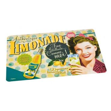 Retro Tischuntersetzer Limonade