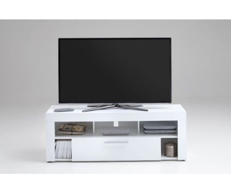 tv lowboard kommode mulimedia vibio wei hochglanz 150 cm media m bel. Black Bedroom Furniture Sets. Home Design Ideas