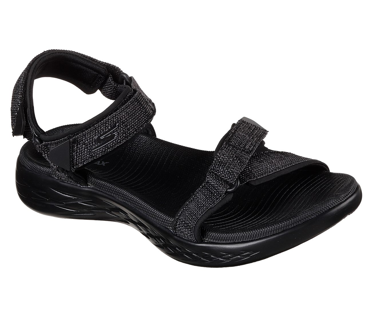 Skechers Damen Sandalen ON THE GO 600 RADIANT Schwarz dOVqO