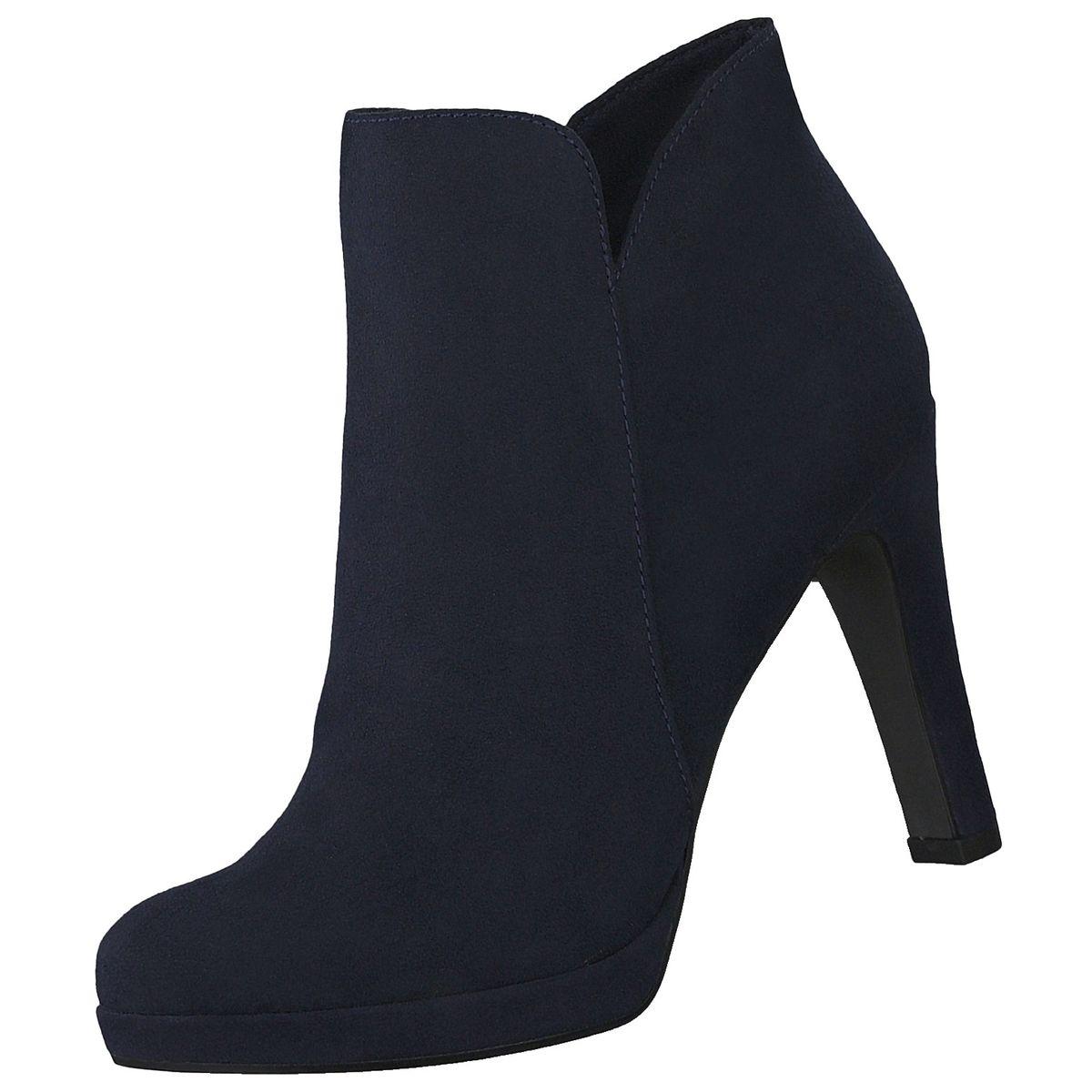 Tamaris Damen Stiefeletten Blau | Trendbereich