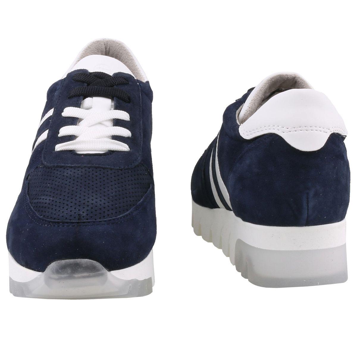 TAMARIS Damen Plateau Sneaker Blau