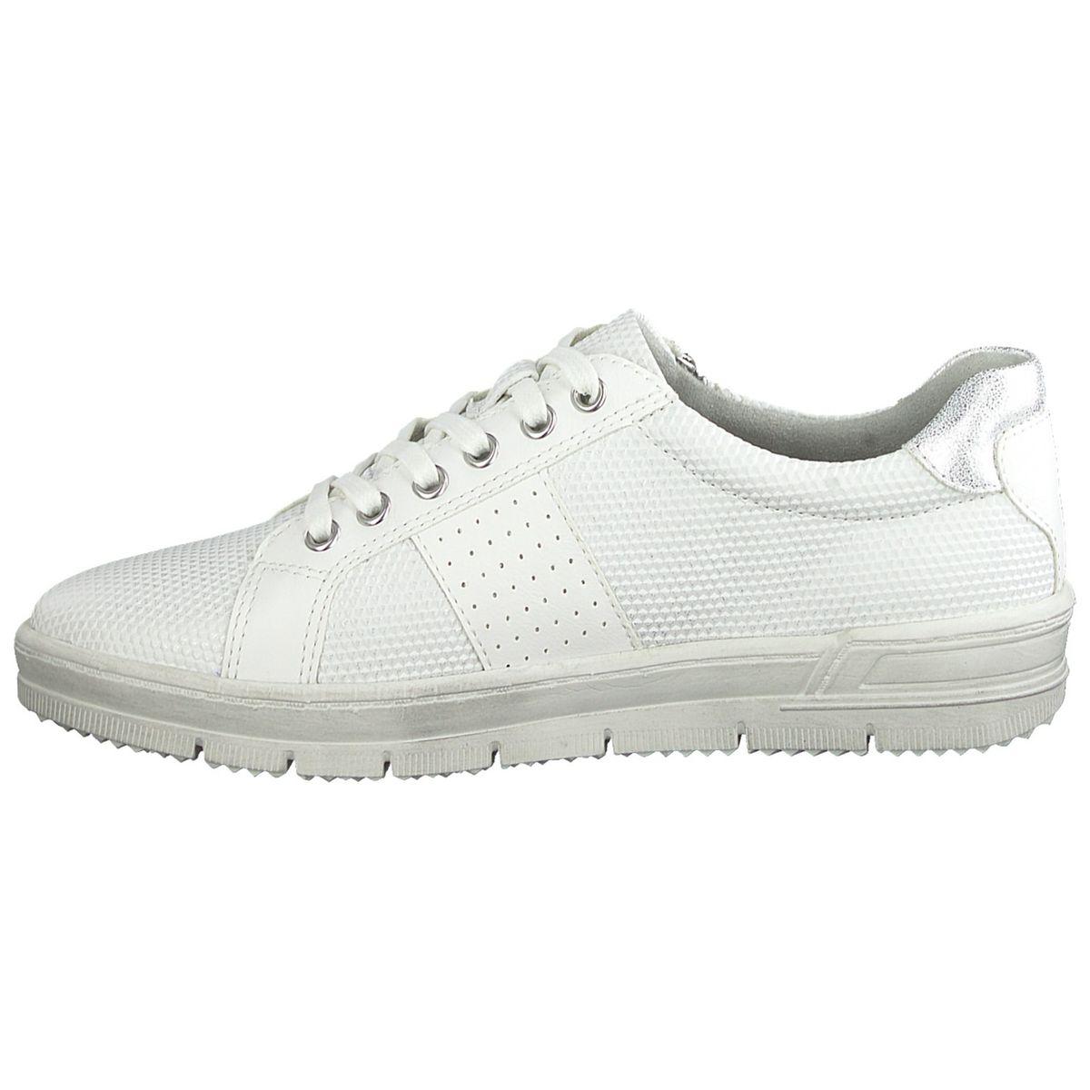TAMARIS Damen Sneaker Weiß