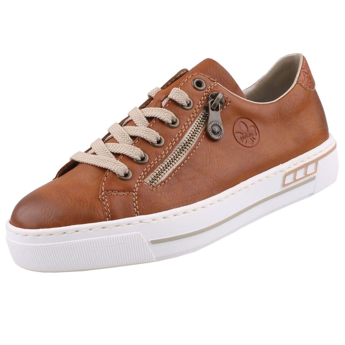 Rieker Damen Sneaker Braun | Trendbereich