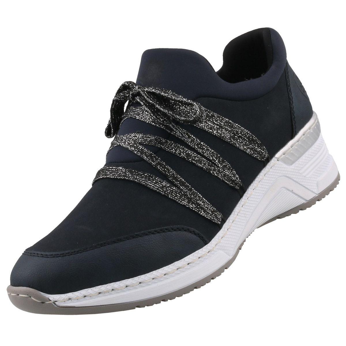Rieker Damen Sneaker Blau | Trendbereich
