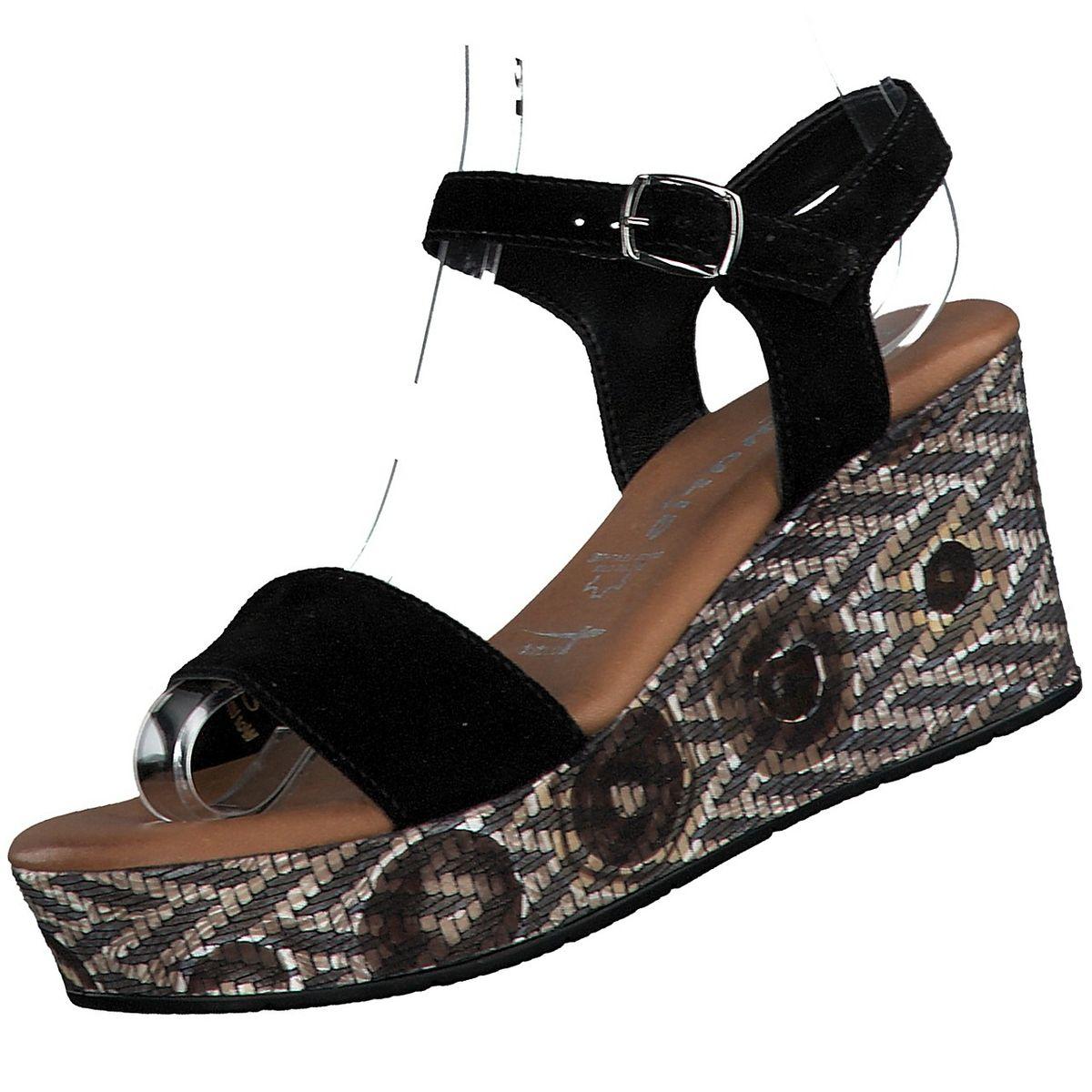 Sandaletten aus Wildleder mit Absatz von Tamaris