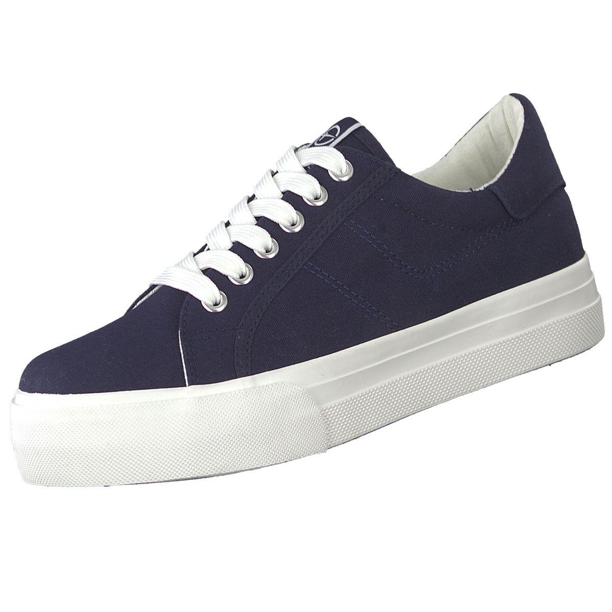 TAMARIS Damen Plateau Sneakers Blau   Trendbereich