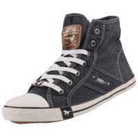 Mustang Damen High Top Sneaker Schwarz