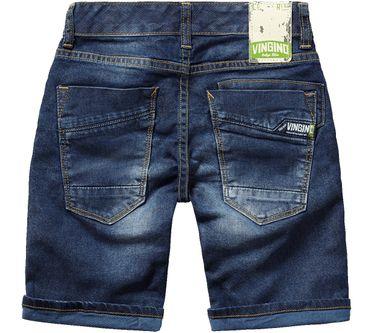 VINGINO Bermuda Shorts Jeans Clement Gr 8 128 (K101)       – Bild 2