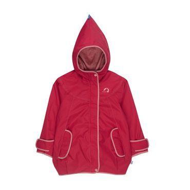 FINKID Lokki Mädchen Parka Zip In Jacke Outdoor Persian Red Gr. 130 140