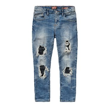 VINGINO Jeans Caya Girlfriend Destroyed Old Vintage Gr. 15 170 (U15746)