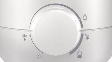 PHILIPS AVENT SCF355/00 Fläschchen- und Babykostwärmer, weiß – Bild 2