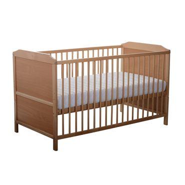 BABY PLUS Kinderbett Abel Buche Natur 70x140