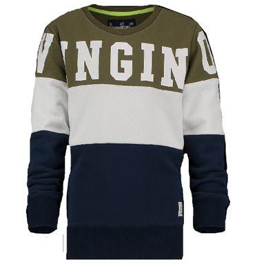 VINGINO Sweatshirt Nathen Army Green Gr. 10 140