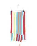 ROOM SEVEN Tagesdecke Strickdecke Häkeldecke Boys Multicolor Stripe Knit Blanket 001