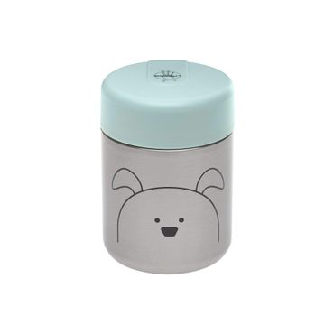 LÄSSIG Food Jar Warmhaltebox für Nahrung Little Chums Cat, blau 1310024524
