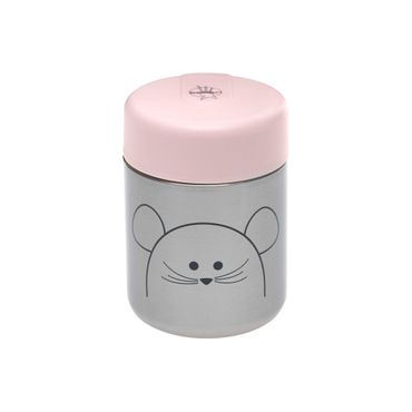LÄSSIG Food Jar Warmhaltebox für Nahrung Little Chums Cat, rosa 1310024725