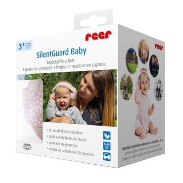REER SilentGuard Baby Kapselgehörschutz Rosa 53074 – Bild 1