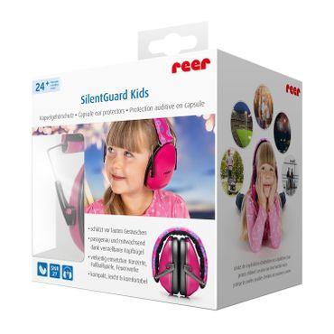 REER SilentGuard Kids Kapselgehörschutz Pink 53094 – Bild 1