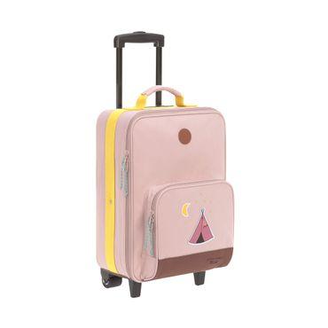 LÄSSIG Kinderkoffer Trolley Adventure Tipi Rosa 1204005749