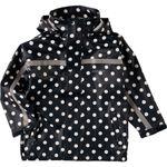 BMS Regenjacke Jacke SoftSkin Marine Weiß Punkte Gr. 116 001