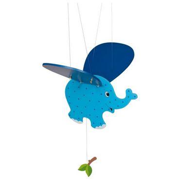 GOKI 52913 - Schwingtier Mobile Elefant