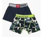 VINGINO Boxershort B193-6 Graphic 2-Pack Dark Blue Gr. XL 001