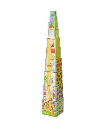 HABA 302030 Stapelwürfel Rapunzel