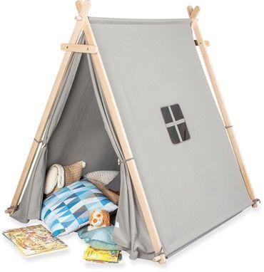 PINOLINO 358052 Zelt Spielzelt Noah Grau