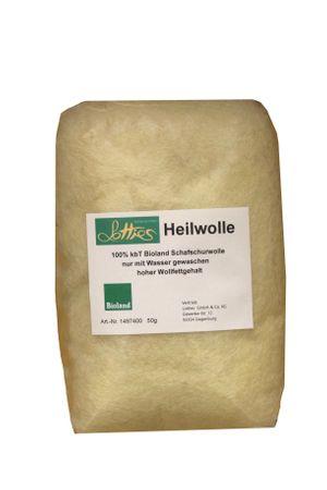 LOTTIES Heilwolle Schafschurwolle 50 Gramm