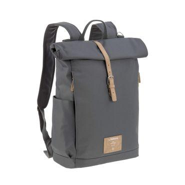 LÄSSIG Rolltop Backpack Wickelrucksack Anthracite 1103025236