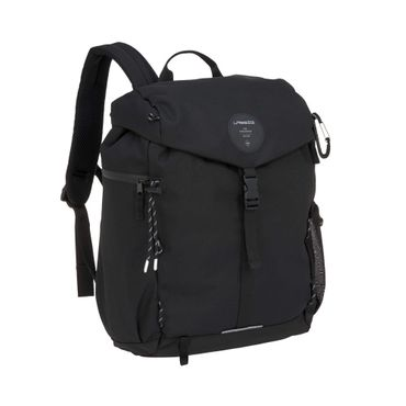 LÄSSIG Outdoor Backpack Wickelrucksack Black 1103026000