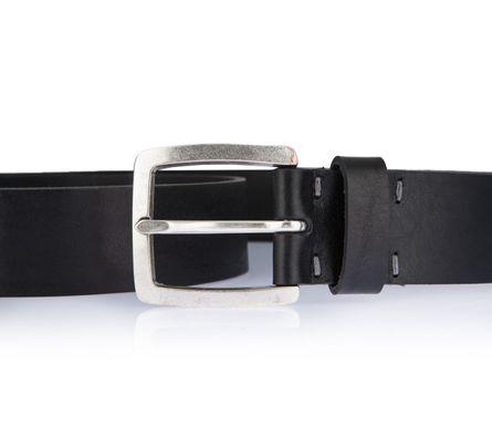LLOYD Men's Belts Gürtel Herrengürtel Ledergürtel Herrenledergürtel Schwarz 2592 – Bild 3