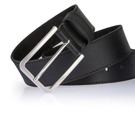 LLOYD Men's Belts Gürtel Herrengürtel Ledergürtel Schwarz 2607 4