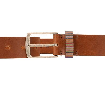 LLOYD Men's Belts Gürtel Herrengürtel Vollrindleder Brandy 3275 – Bild 3