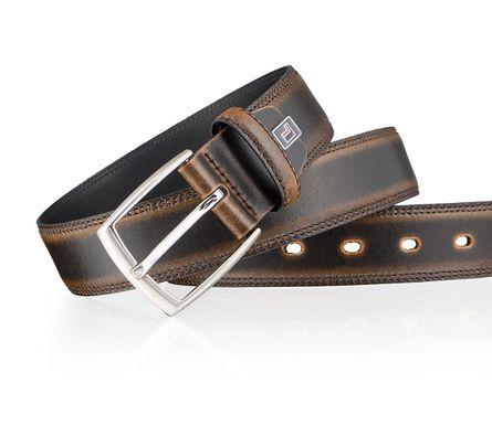 LLOYD Men's Belts Gürtel Herrengürtel Ledergürtel Herrenledergürtel Braun 3314 4