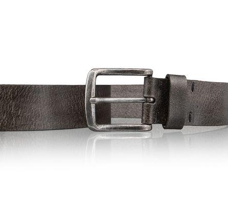 LLOYD Men's Belts Gürtel Herrengürtel Ledergürtel Herrenledergürtel Grau 3421 – Bild 3