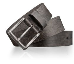 LLOYD Men's Belts Gürtel Herrengürtel Ledergürtel Herrenledergürtel Grau 3421 4