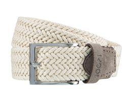 JOOP! Gürtel Herrengürtel Textil Flechtgürtel Natur/Weiß 3740