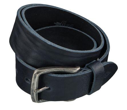 LLOYD Men's Belts Gürtel Herrengürtel Ledergürtel Blau 4025 – Bild 2