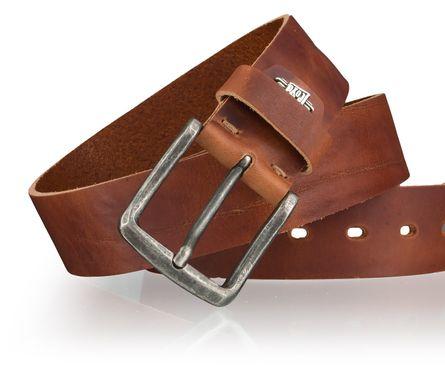 LLOYD Men's Belts Gürtel Herrengürtel Ledergürtel Brandy 4027 – Bild 4