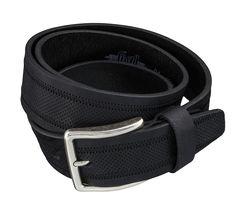 LLOYD Men's Belts Gürtel Herrengürtel Ledergürtel Schwarz 4029 2
