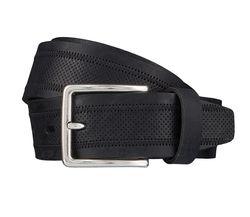 LLOYD Men's Belts Gürtel Herrengürtel Ledergürtel Schwarz 4029