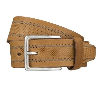 LLOYD Men's Belts Gürtel Herrengürtel Ledergürtel Schlamm 4030 – Bild 1